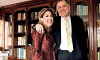 Alejandro Ordóñez y su esposa, Beatriz Hernández.