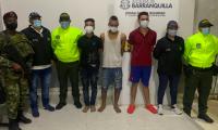 Los imputados fueron capturados por integrantes del Cuerpo Técnico de Investigación, CTI, de la Fiscalía en coordinación con miembros de la Policía Nacional y del Ejército Nacional.