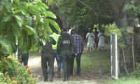 El operativo se adelantó en Machete Pelao.