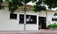 El cuerpo de la joven fue trasladado a Medicina Legal, en Barranquilla.