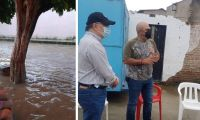 Inundaciones en octubre de 2020 en El Retén.