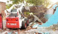 Demolición de 'olla' en Ciénaga.