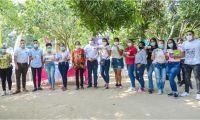 formalizó la firma del convenio específico para estudiantes nuevos del Creo.