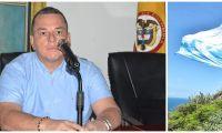 Jaime Linero fue homenajeado póstumamente con la bandera a media asta.