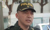 Coronel Óscar Solarte, comandante de la Policía Metropolitana de Santa Marta.