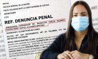 La diputada radicó una denuncia penal contra el actual gobernador del Magdalena.