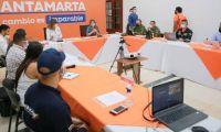 Consejo de Seguridad en Santa Marta.