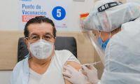 Vacunación de Fernando Ruiz.