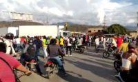 El enfrentamiento se da en Mamatoco.