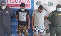 Capturados en Córdoba.