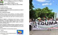 Sindicato de Educadores en el Magdalena.