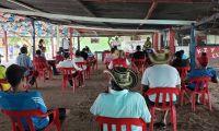 Mesa de diálogo realizada por CORPAMAG en el corregimiento de Belén