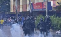 Disturbios en Barranquilla.