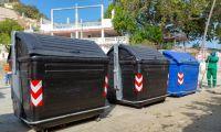 En Santa Marta cambian el color de los contenedores.