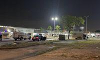 Lugar del tiroteo en Miami.