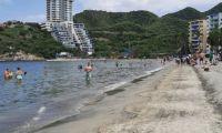 Playa de El Rodadero.