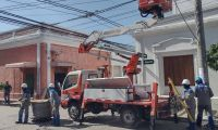 Trabajos de Air-e en Ciénaga.