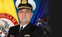 El contralmirante José David Espitia Jiménez.