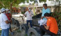 Alcaldía avanza en las acciones para reglamentar uso, administración y control de las canchas deportivas barriales.