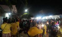 Conmoción en el barrio Sourdis de Barranquilla, por los hechos ocurridos en la noche del martes.
