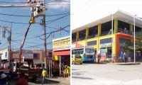 Obras en el Mercado Público.