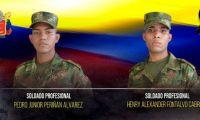 Soldados asesinados en Montecristo.