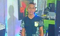 Leonel Zubiria, víctima.