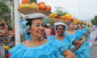 Desfile en Fiestas del Mar - contexto.
