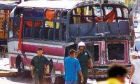 Atentado contra el expresidente Uribe en 2002.