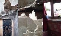 Estos son algunos de los daños que causaron los reclusos.