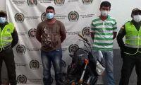 Arnuldo Ortega Vizcaíno y Andy Manuel Gonzales Rocha.
