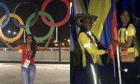 La magdalenense desfiló en la clausura de los Juegos Olímpicos de Río con la delegación colombiana.