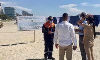 La Dimar hizo inspección en la playa concesionada al hotel Irotama.