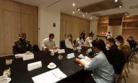 Reunión de autoridades de turismo.