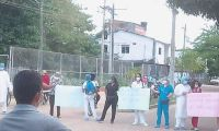Los trabajadores volvieron a protestar.