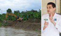 El alcalde de Zona Bananera teme nuevas emergencias.