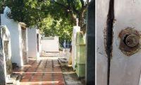 Cementerio de Taganga.