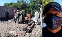 El cuerpo fue encontrado esta mañana en el río Manzanares.