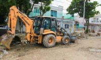 Obras que se adelantan en esa zona de la ciudad.