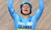 Bayona viene de ganar oro en Juegos Panamericanos en Keirin.