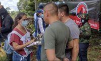 Militares liberados en Arauca.
