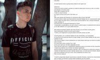 Jaider Mejía tenía 18 años de edad.