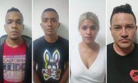 Banda delincuencial 'Los Chirys'.