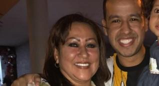 Patricia Acosta y su hijo, Martín Elías (Q.E.P.D.)