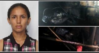 La mala hora de Julieth, estudiante de Unimagdalena embarazada que se le quemó la casa
