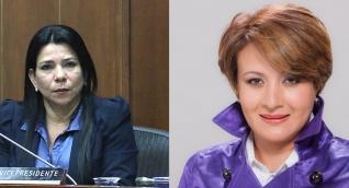 Yamina Pestana y Tatiana Cabello
