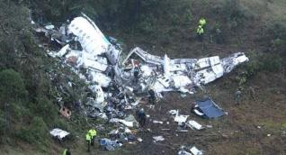 Accidente del avión donde viajaba el equipo brasilero Chapecoense.