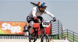La doble campeona olímpica, Mariana Pajón competirá hoy.