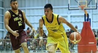 Colombia campeón de baloncesto en los Bolivarianos.