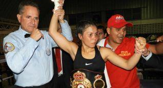 Liliana Palmera, boxeadora colombiana.